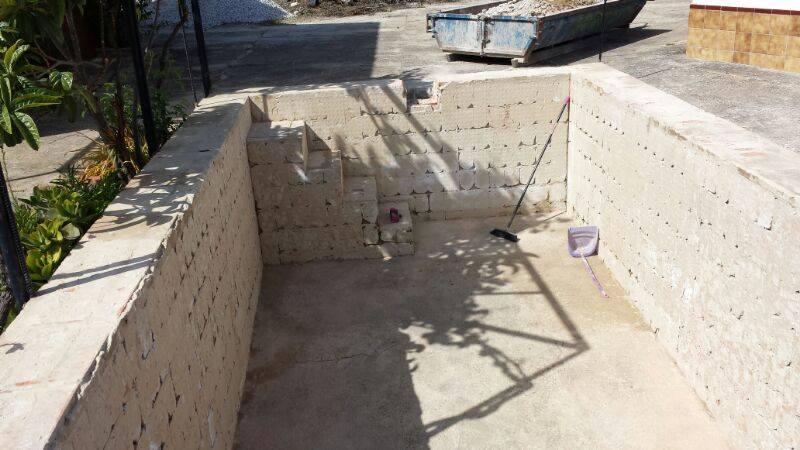 Construcci n piscinas gresite en m laga piscinas m laga - Construccion piscinas paso paso ...
