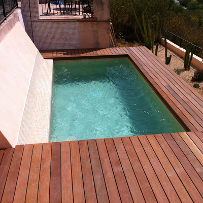 construccion piscina privada trasumar